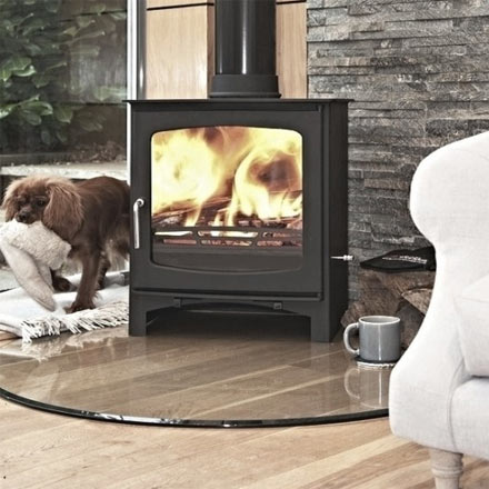 Purefire 10kw wood burning stove - Defra-approved