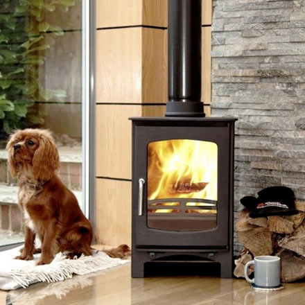 Defra-Approved Purefire Curve 5 Wood Burning Stove