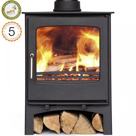 Defra-approved Purefire Curve 7.4 Wood Burning Stove