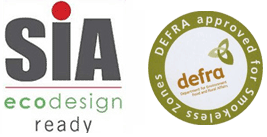 SIA EcoDesign Ready and Defra Approved